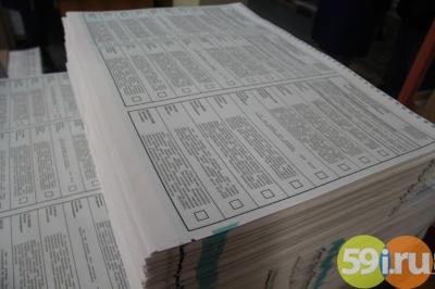 Для Свердловской области кпрезидентским выборам напечатают 3,4 млн бюллетеней