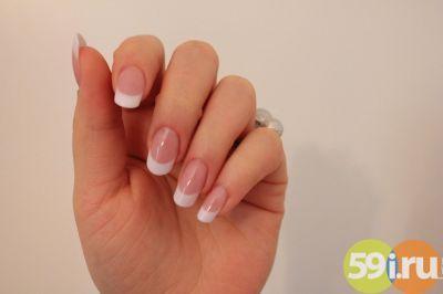 французский маникюр фото на короткие ногти в домашних условиях