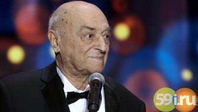 Собственный 95-летний юбилей 6мая отмечает Народный артист СССР Владимир Этуш