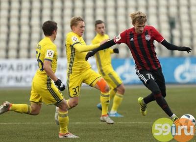 «Амкар» одержал победу над «Ростовом»