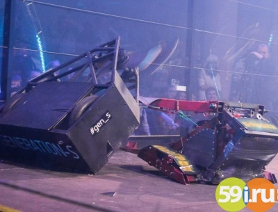 Победителем «Битвы роботов» вПерми стала команда изБалашихи