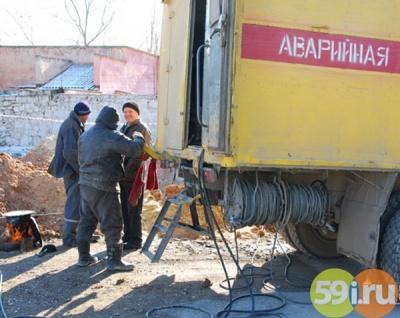 ВСоликамске из-за аварии надороге неменее 800 домов остались без газа