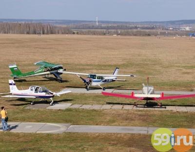 Неизвестные пытались совершить рейдерский захват аэродрома ДОСААФ около Перми