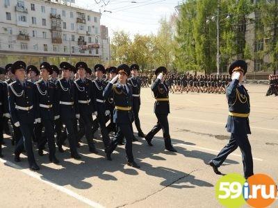 Для репетиции парада вПерми перекроют Октябрьскую площадь