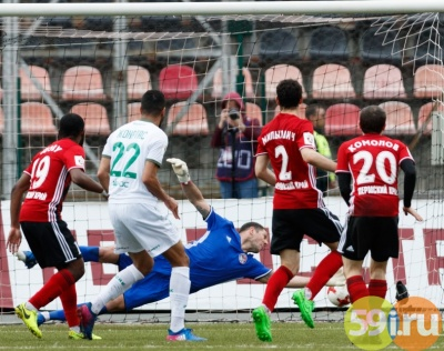 Взаключительном туре чемпионата РПФЛ «Рубин» обыграл «Амкар»