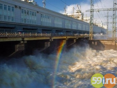 Неожиданный приток воды кКамской ГЭС превысил норму втрое