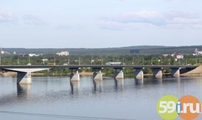 ВПерми надва месяца ограничат движение поКоммунальному мосту