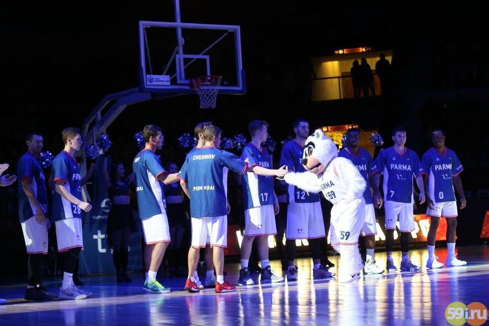 «ПАРМА» сыграла вничью сфранцузским баскетбольным клубом «ЛеПортель»
