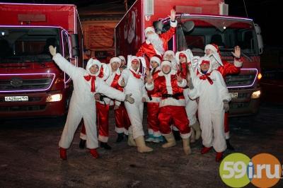 Рождественский грузовой автомобиль Coca-Cola проедет поНовосибирску