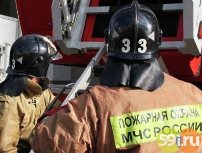 Пожар наферме вПермском крае мог случится из-за нарушения правил безопасности